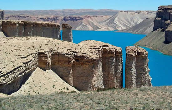 Band-e Amir Lakes Pillars