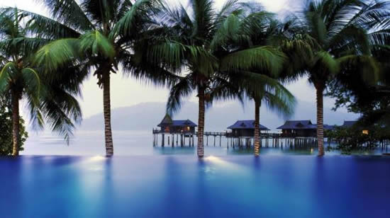 Pangkor Laut Resort Infinity Pool