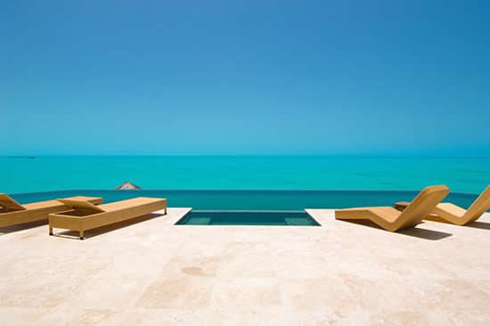Villa Balinese Turks and Caicos Infinity Pool
