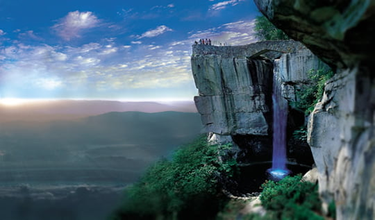 High Falls - Lovers Leap
