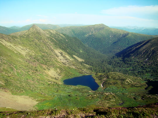Heart Lake - Peak Cherskogo - Russia