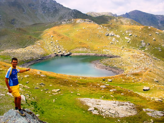 Heart-Shaped Lake - Kosovo Alps - Albania