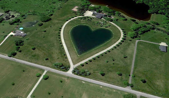 Heart-Shaped Pond - oOhio