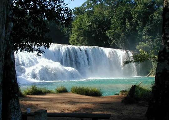 Cascadas de Agua Azul Waterfalls