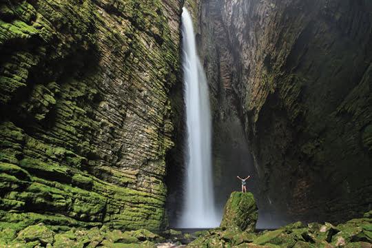 Cachoeira da Fumacinha Waterfall